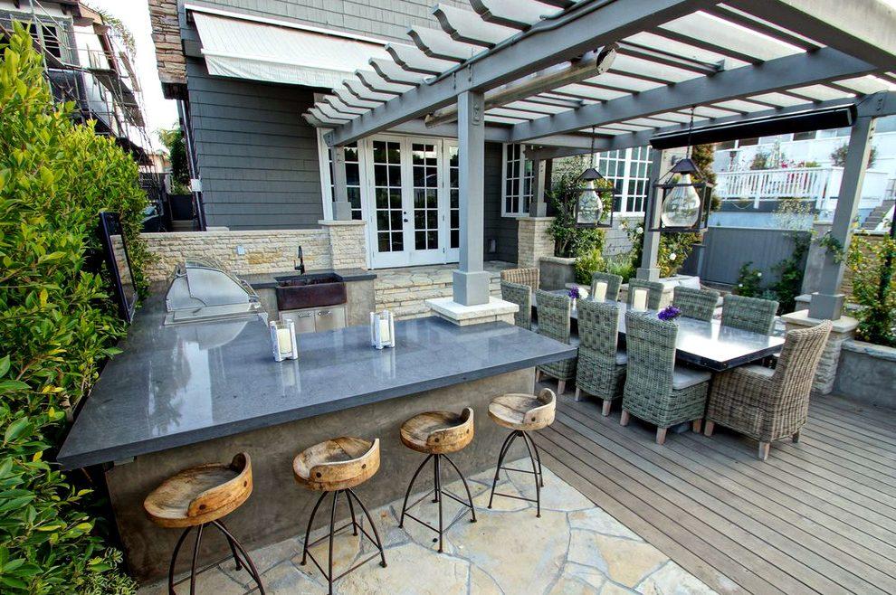 outdoor bar counter designs photo - 6