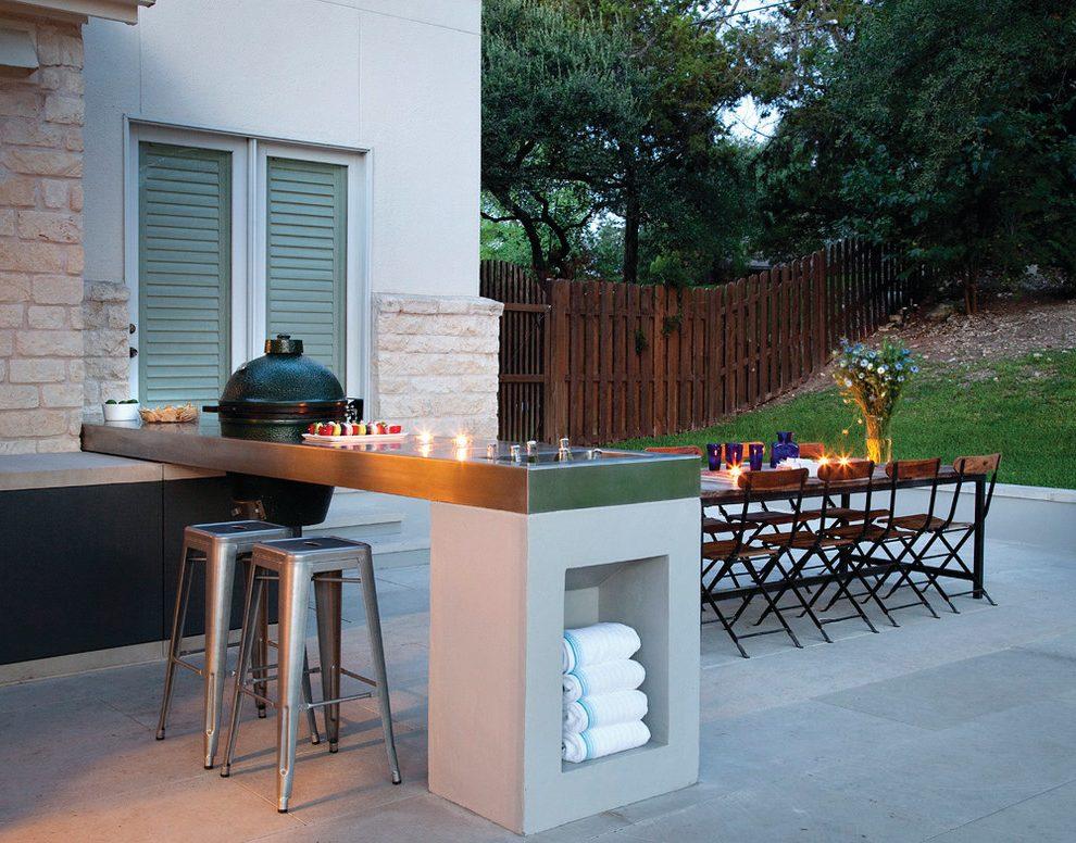 outdoor bar counter designs photo - 9