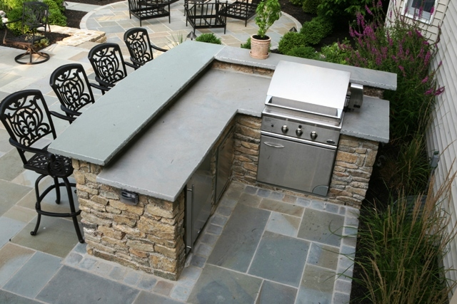 outdoor bar grill designs photo - 2