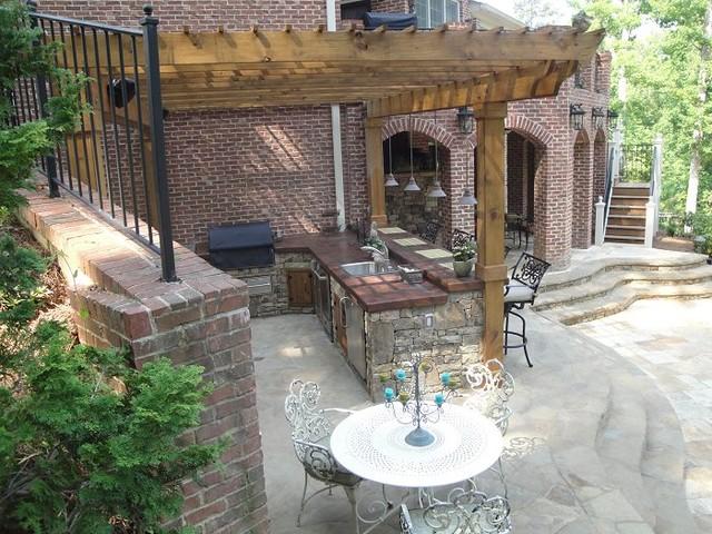 outdoor bar grill designs photo - 6