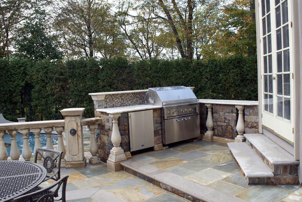 outdoor bar grill designs photo - 7