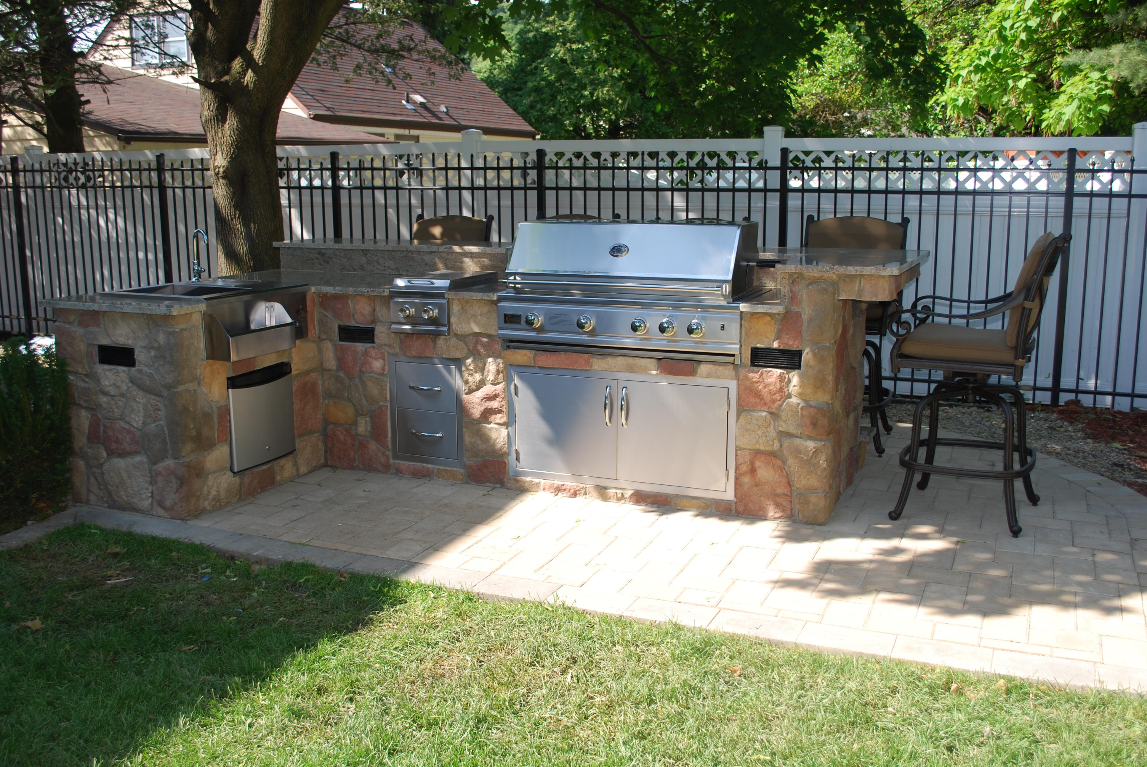 outdoor bar grill designs photo - 8