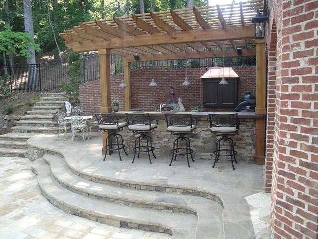 outdoor bar grill designs photo - 9