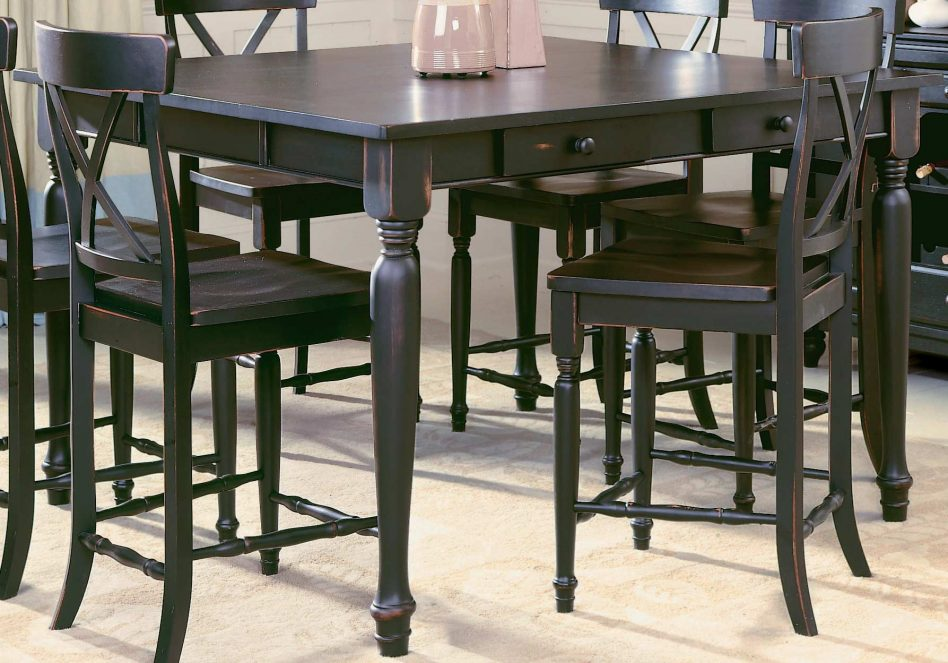 outdoor bar height furniture sets photo - 10