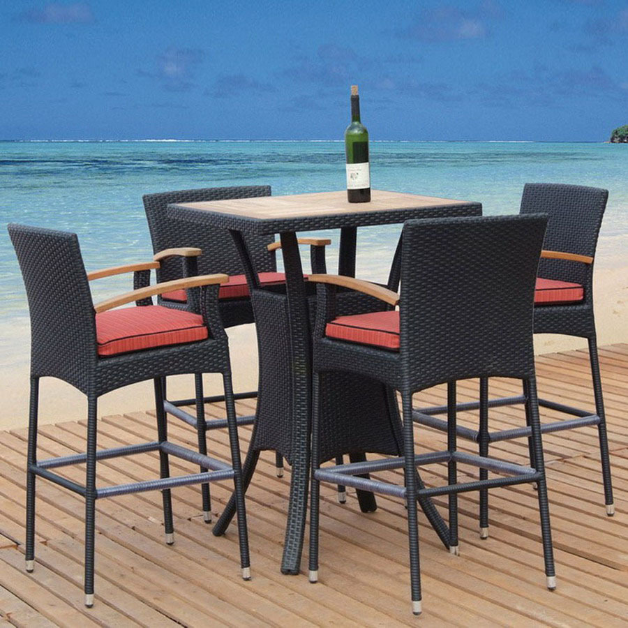 Outdoor Bar Height Furniture Sets Hawk Haven