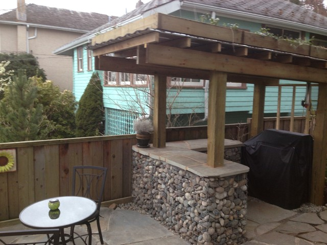 outdoor bar roof design photo - 7