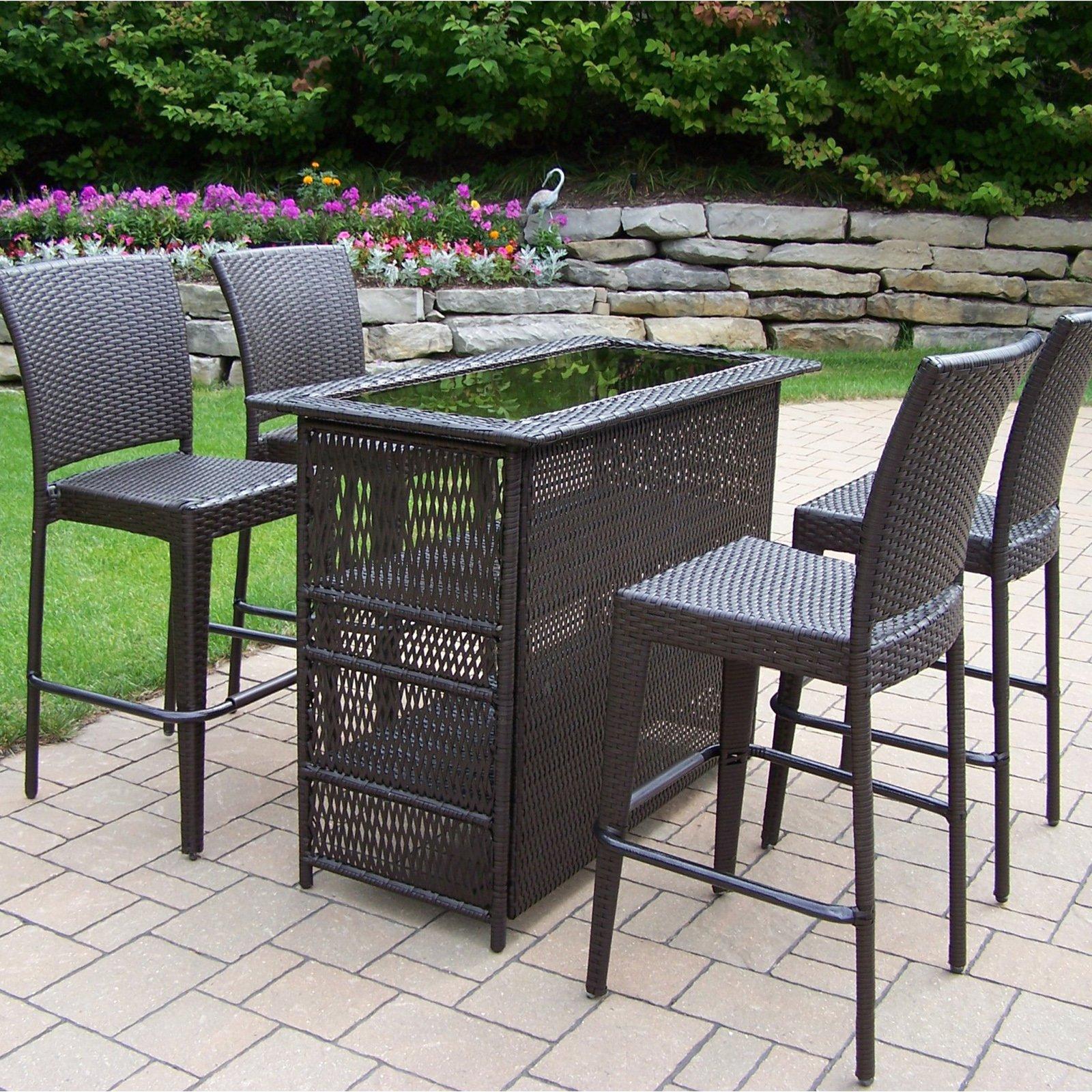 outdoor bar sets photo - 1