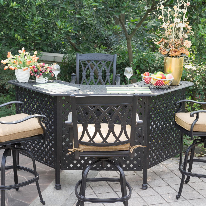 outdoor bar sets photo - 3