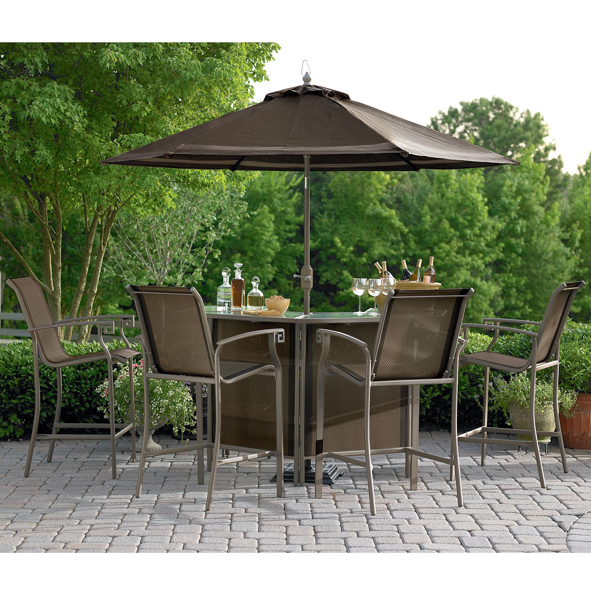 outdoor bar sets sears photo - 2