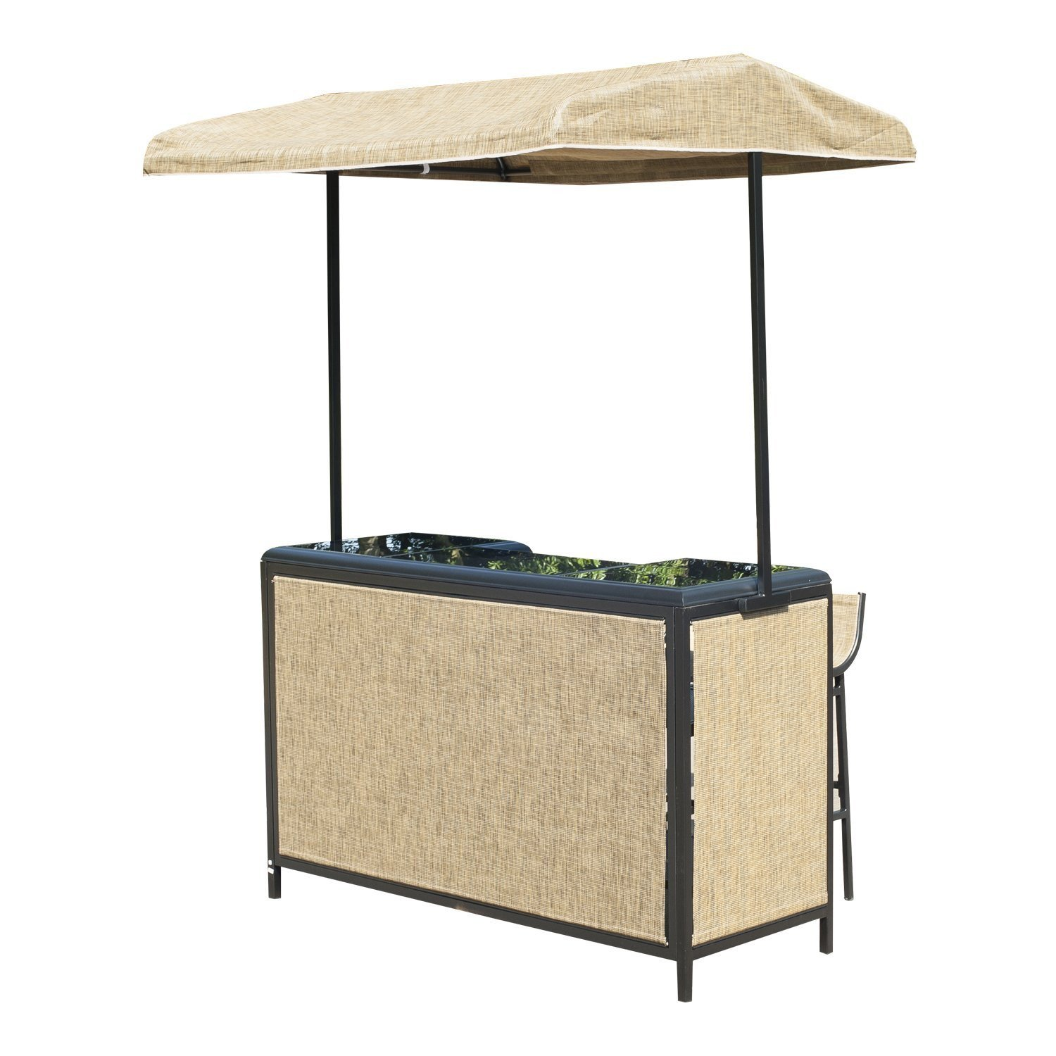 outdoor bar sets with canopy photo - 9