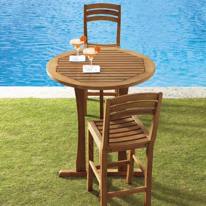 outdoor bar table design photo - 2