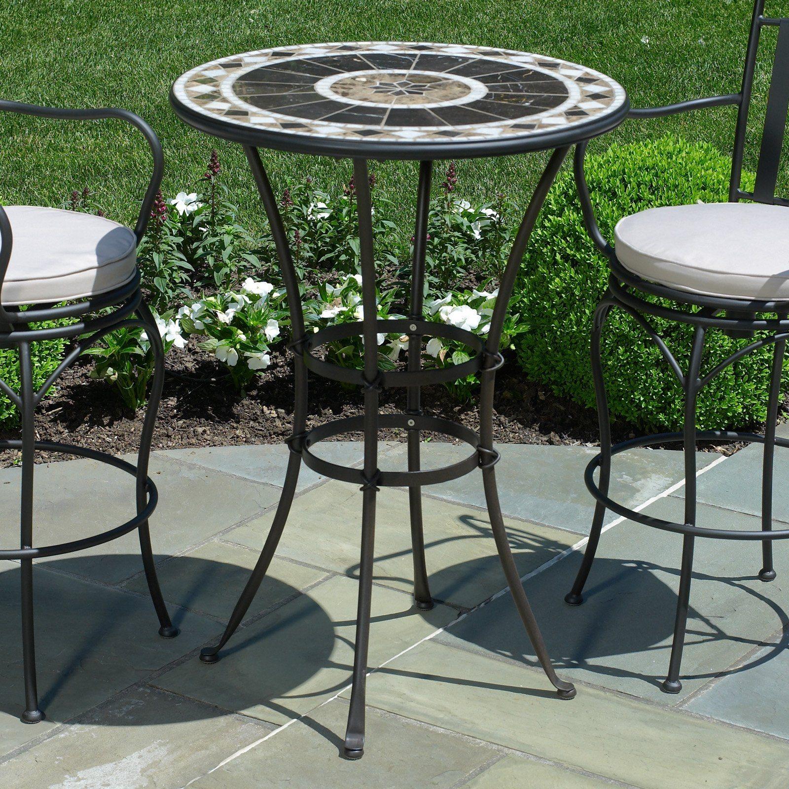 outdoor bar table design photo - 9