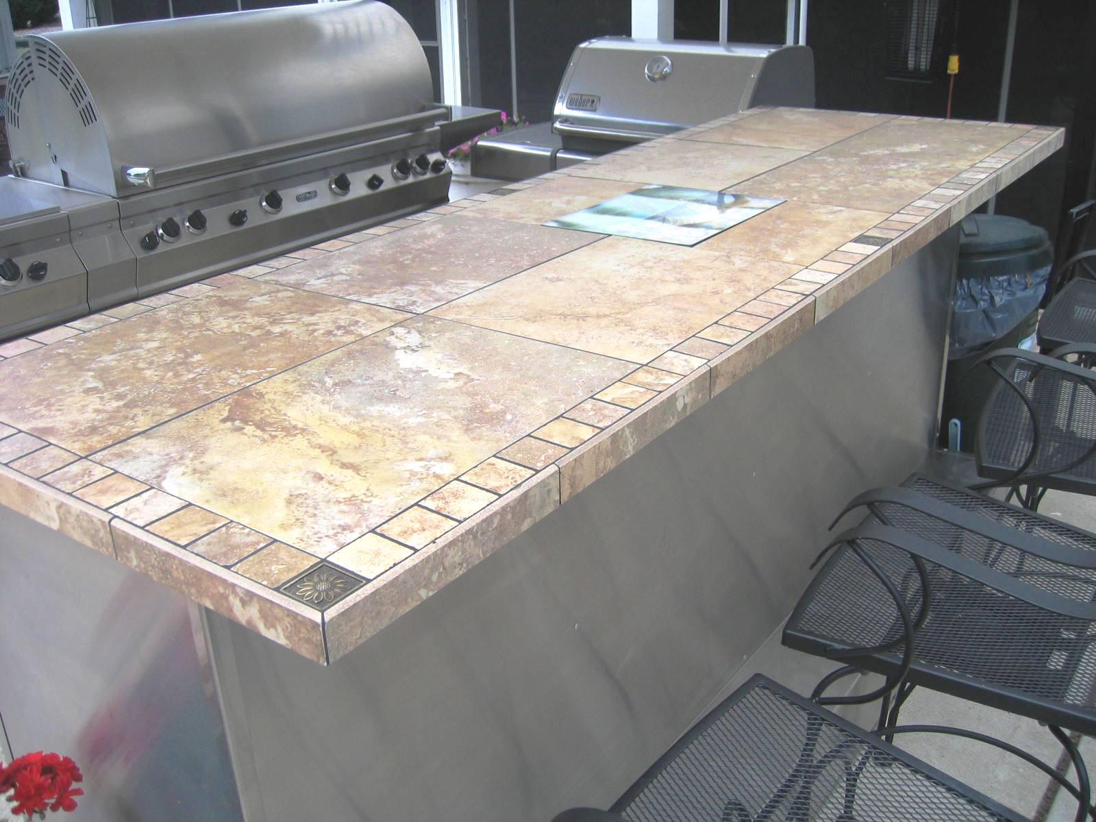 Inspiring Tile Bar Tops Photos - Best inspiration home design - arwai.us