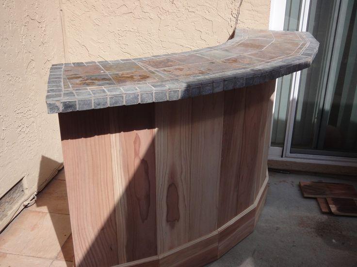 outdoor bar tile designs photo - 4