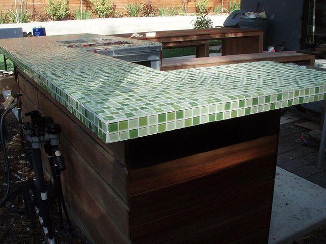 outdoor bar tile designs photo - 5