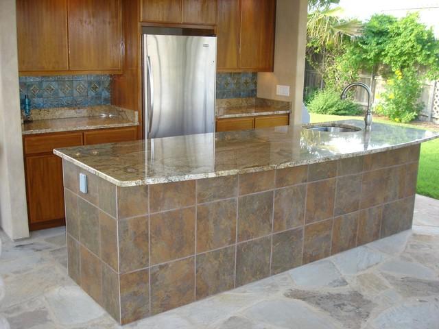 outdoor bar tile designs photo - 6