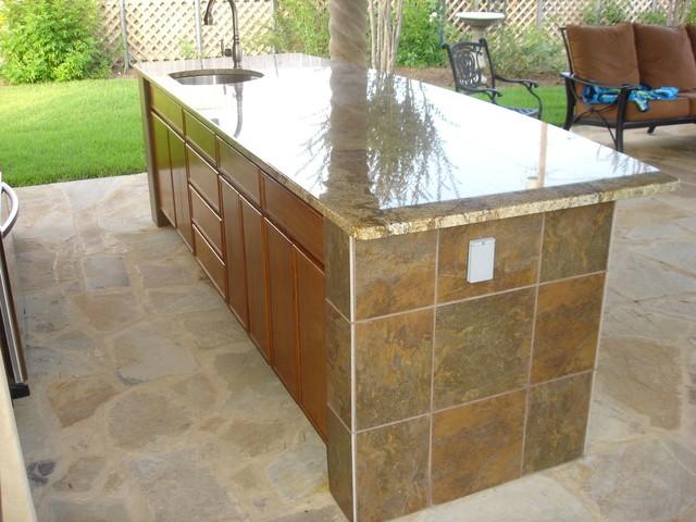 outdoor bar tile designs photo - 9
