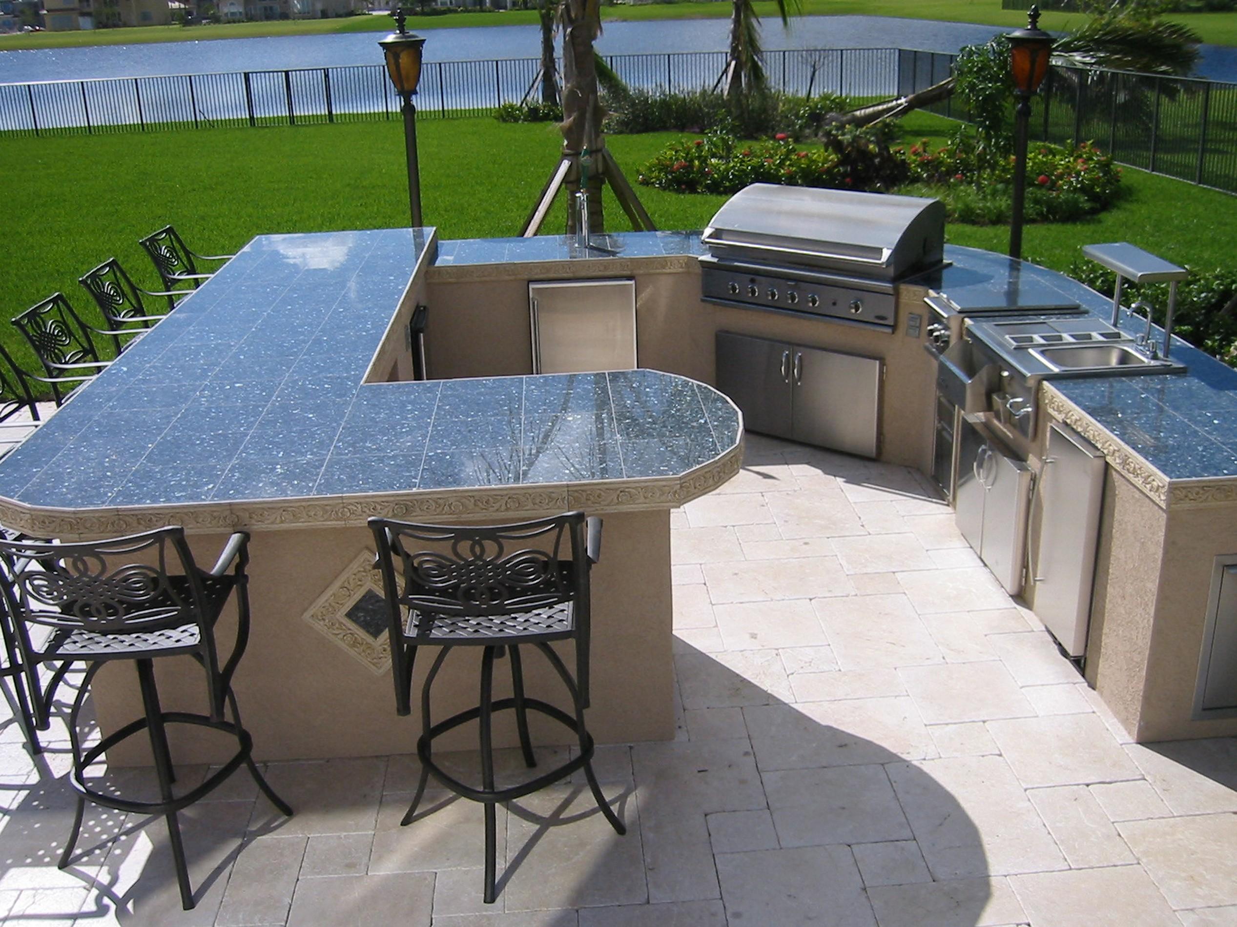 outdoor bar top designs photo - 2