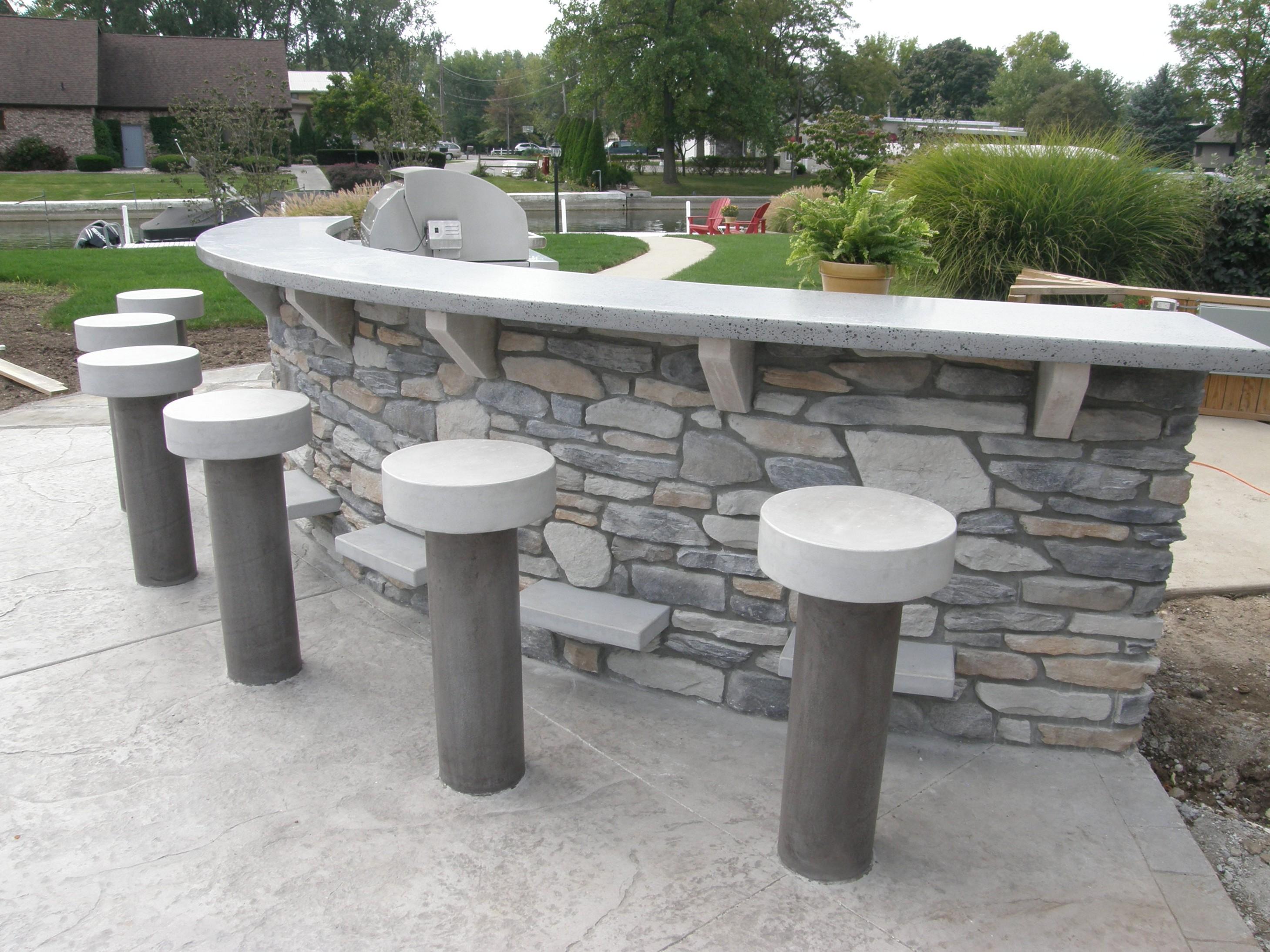 outdoor bar top designs photo - 3