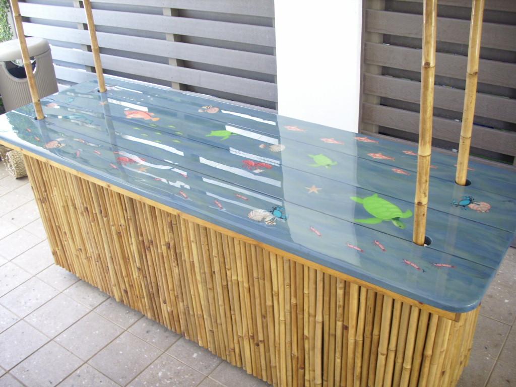 outdoor bar top designs photo - 5