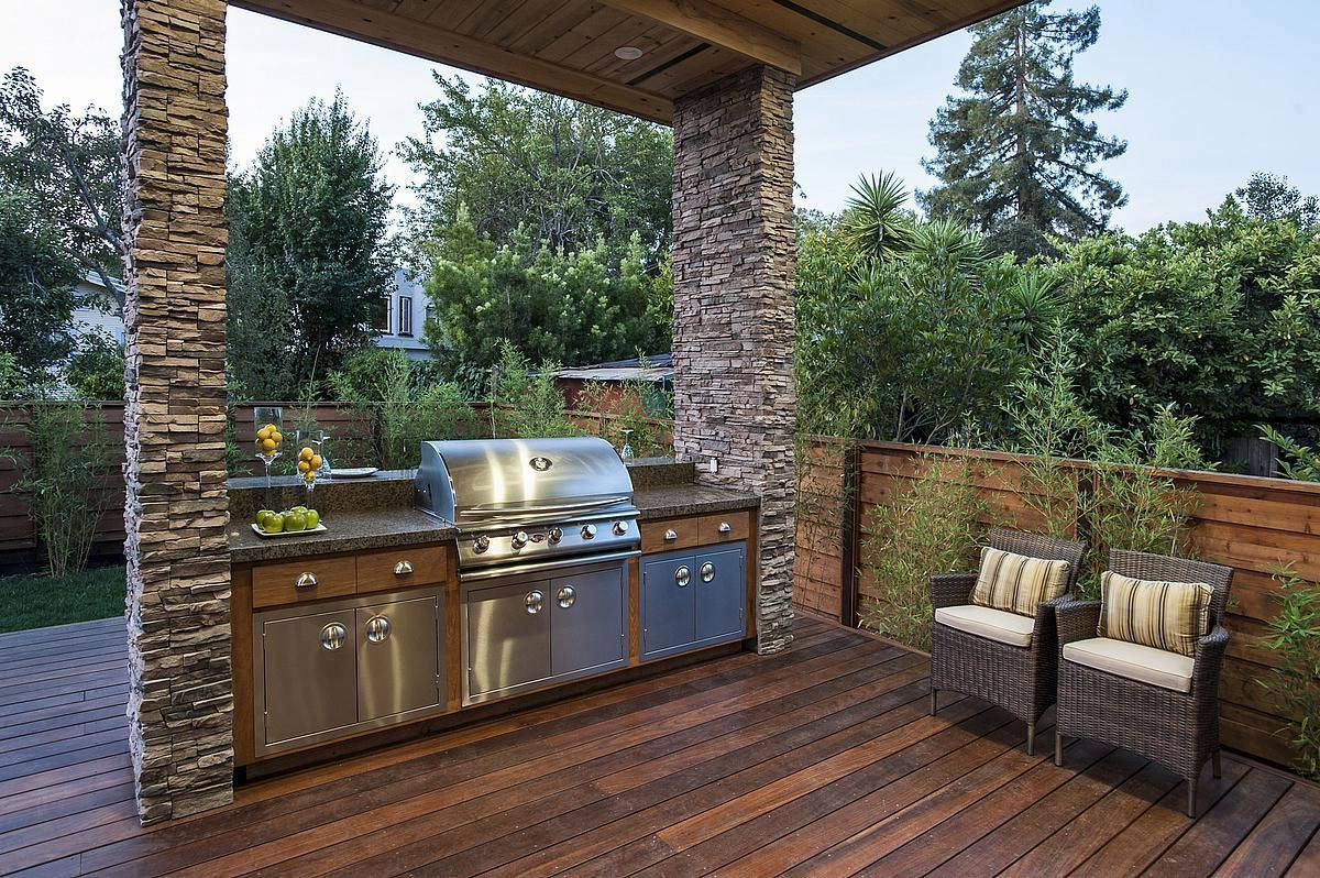 Outdoor Barbeque Designs Hawk Haven