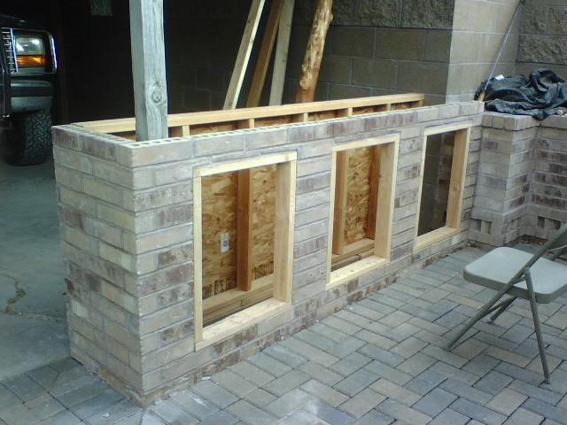 Outdoor Brick Bar Designs Hawk Haven