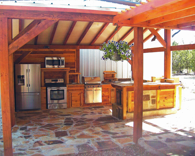 Outdoor Country Kitchen Designs Hawk Haven