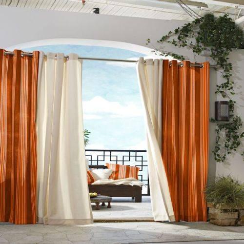 outdoor curtains ballard designs photo - 3