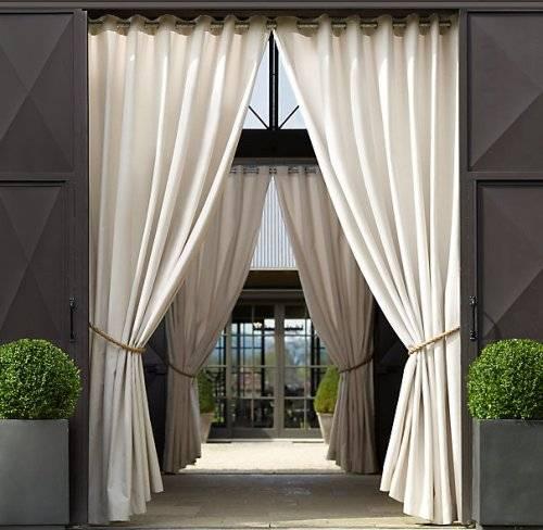 outdoor curtains ballard designs photo - 5
