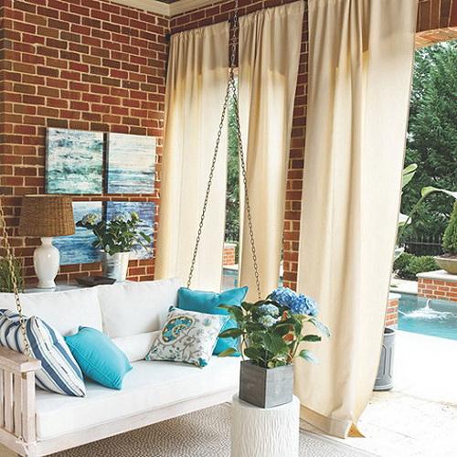 outdoor curtains ballard designs photo - 6