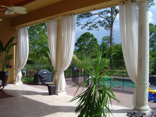 outdoor curtains ballard designs photo - 9