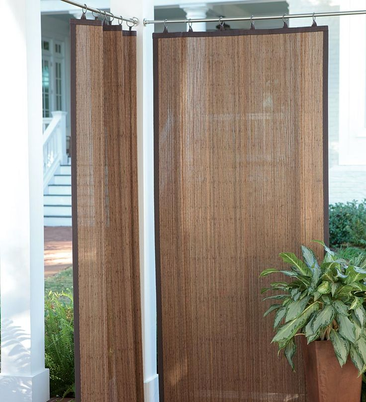 Outdoor Curtains Bamboo Photo   3