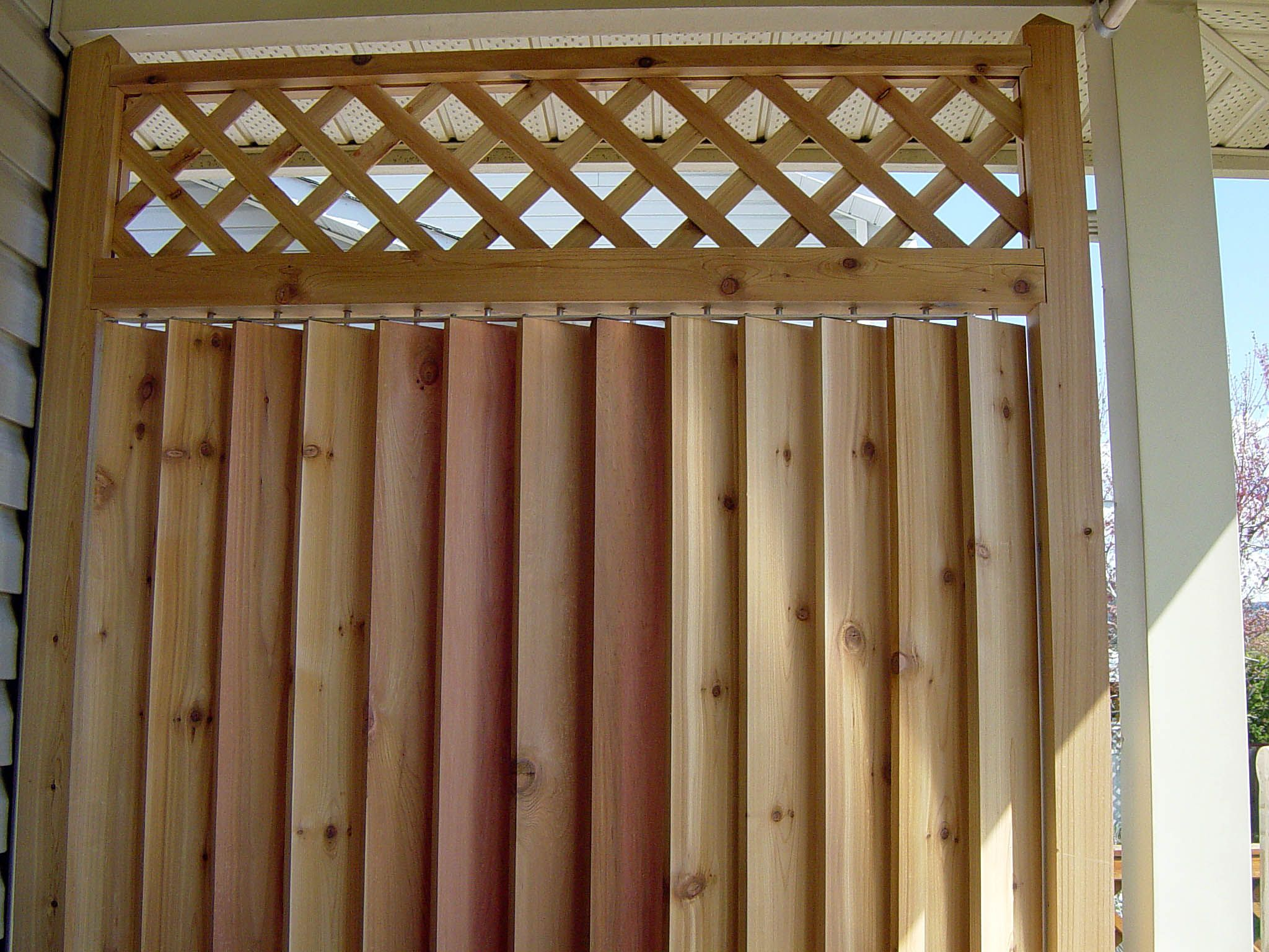 outdoor curtains block wind photo - 10
