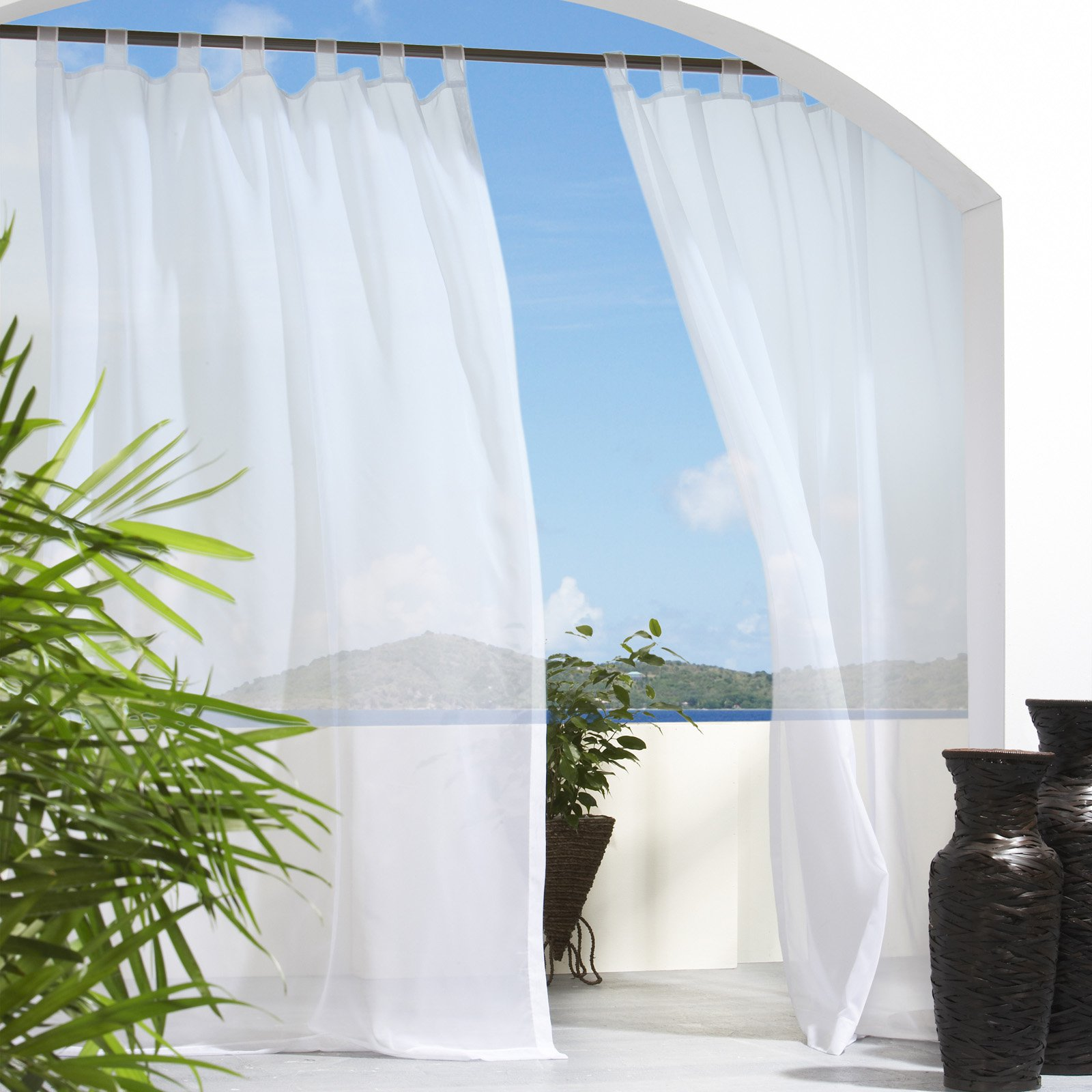 outdoor curtains clearance photo - 10