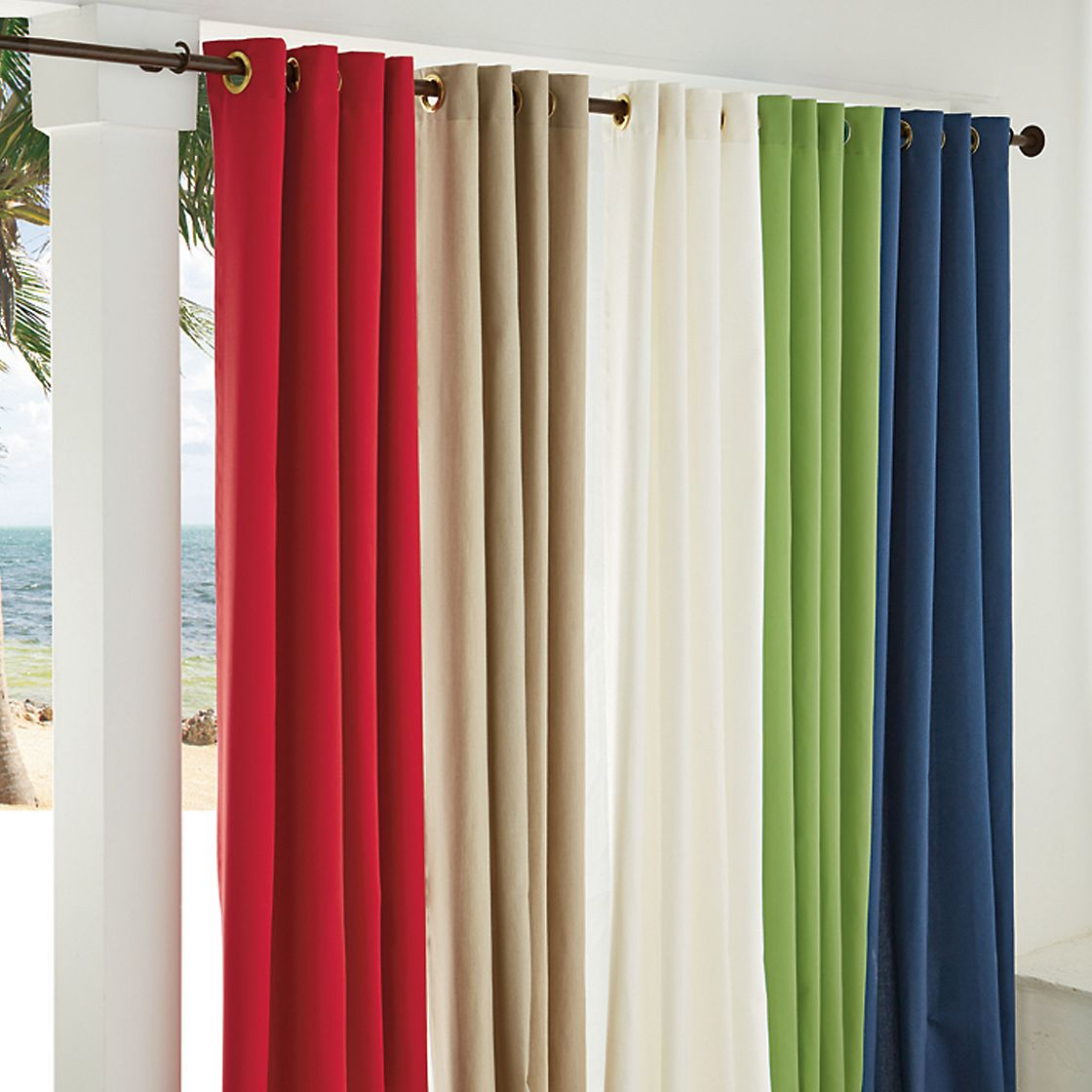 outdoor curtains clearance photo - 2