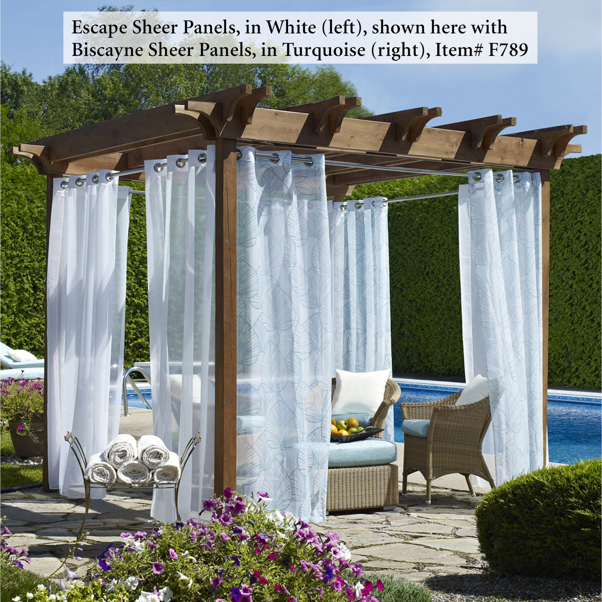 outdoor curtains clearance photo - 4