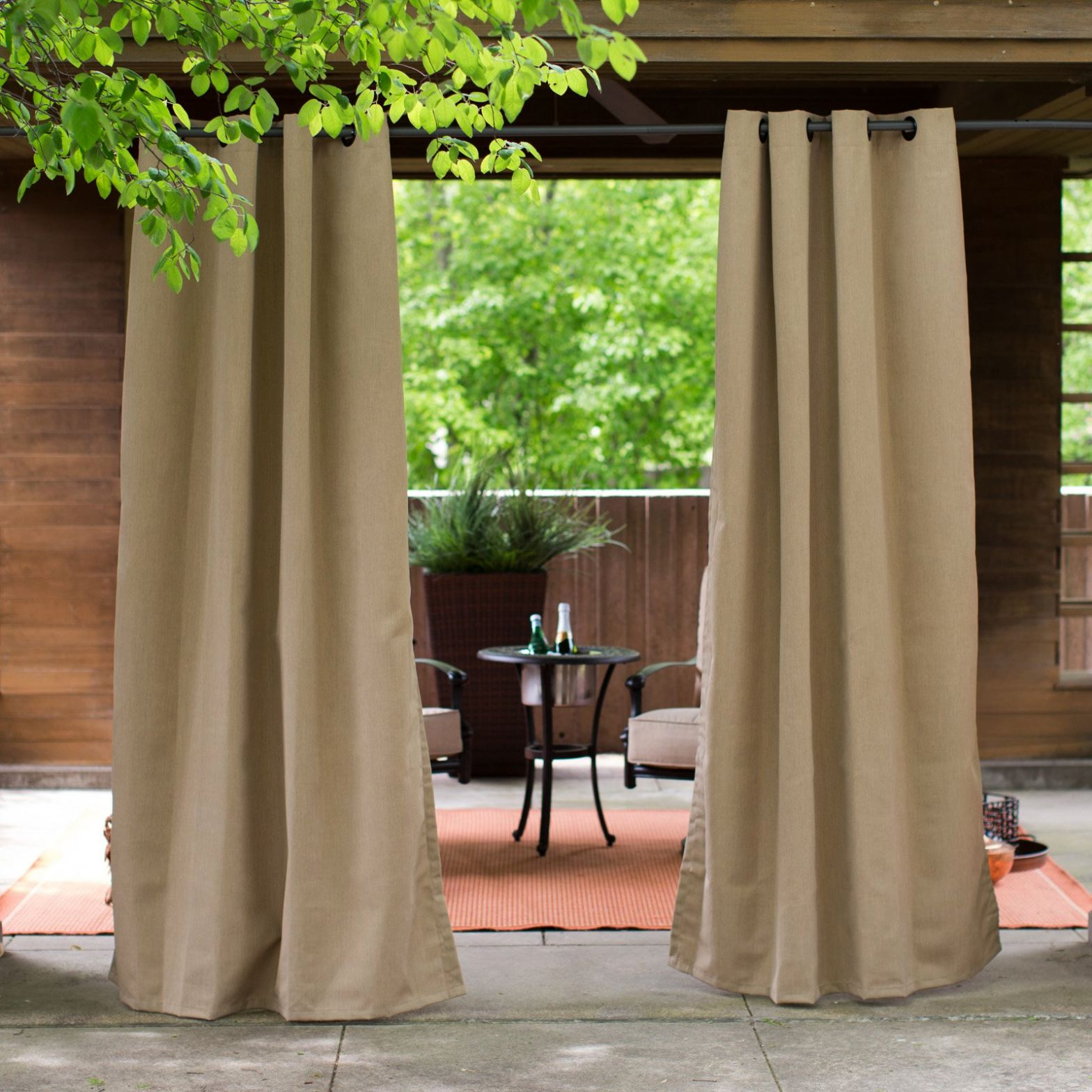 outdoor curtains clearance photo - 5
