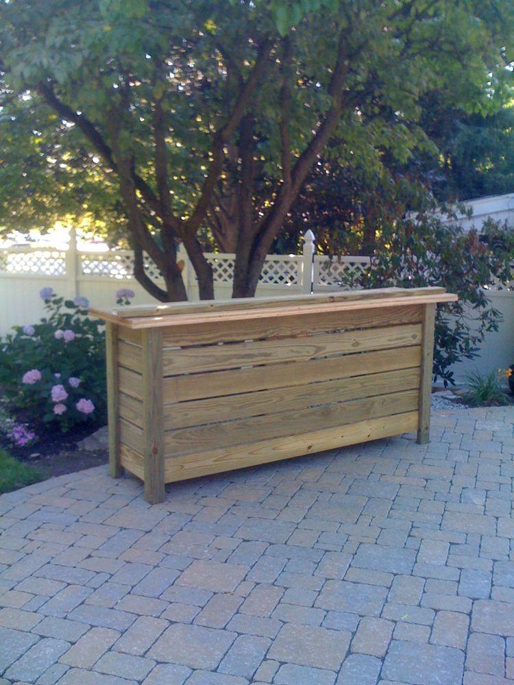 outdoor deck bar designs photo - 2