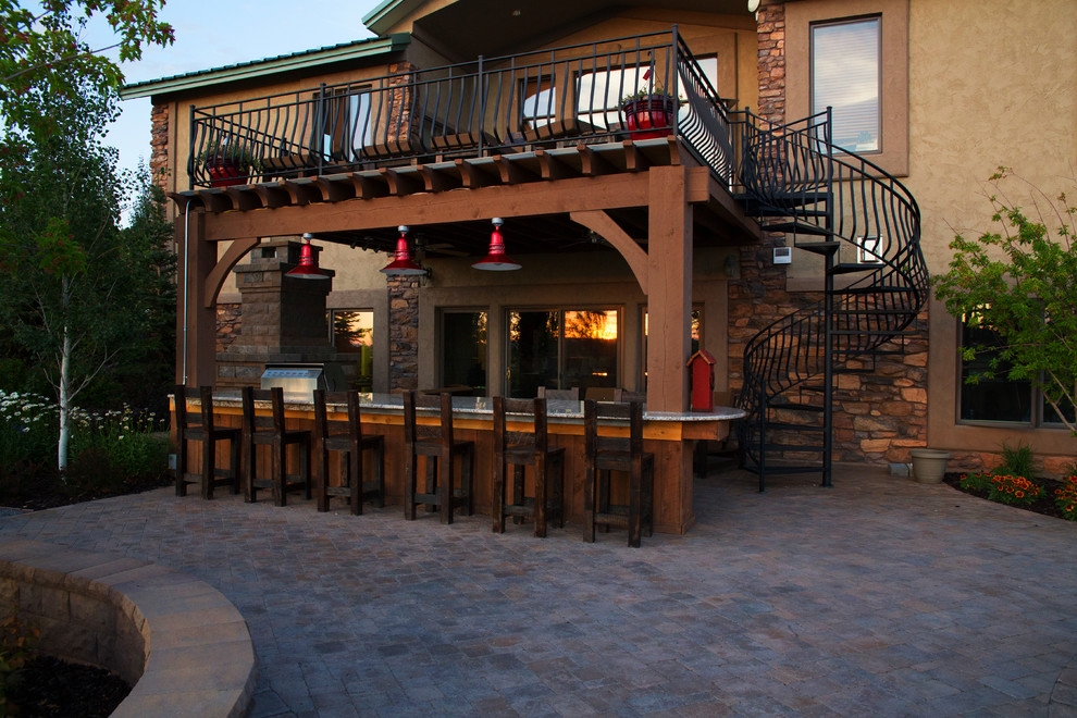 Outdoor Deck Bar Designs Hawk Haven