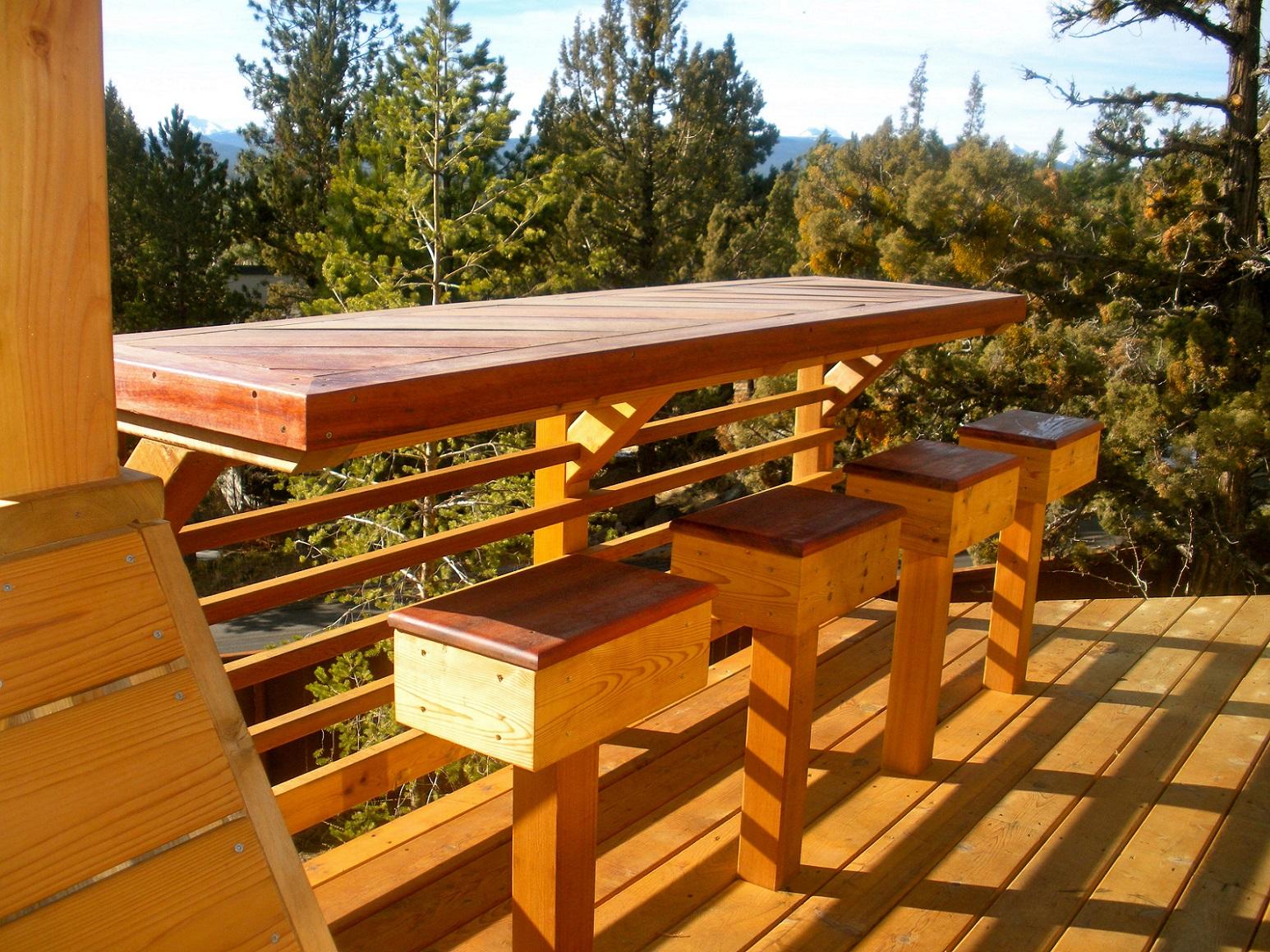 outdoor deck bar designs photo - 7