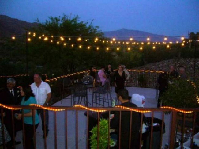 outdoor deck party lights photo - 4