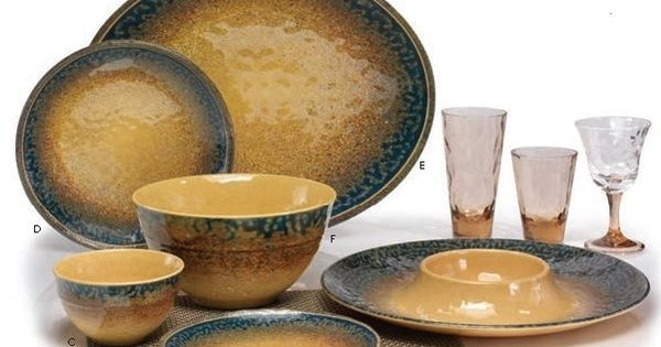 outdoor dining plate sets photo - 5