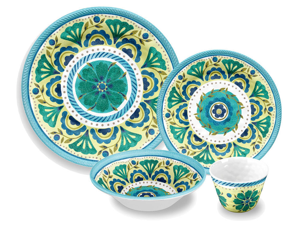 outdoor dining plate sets photo - 6