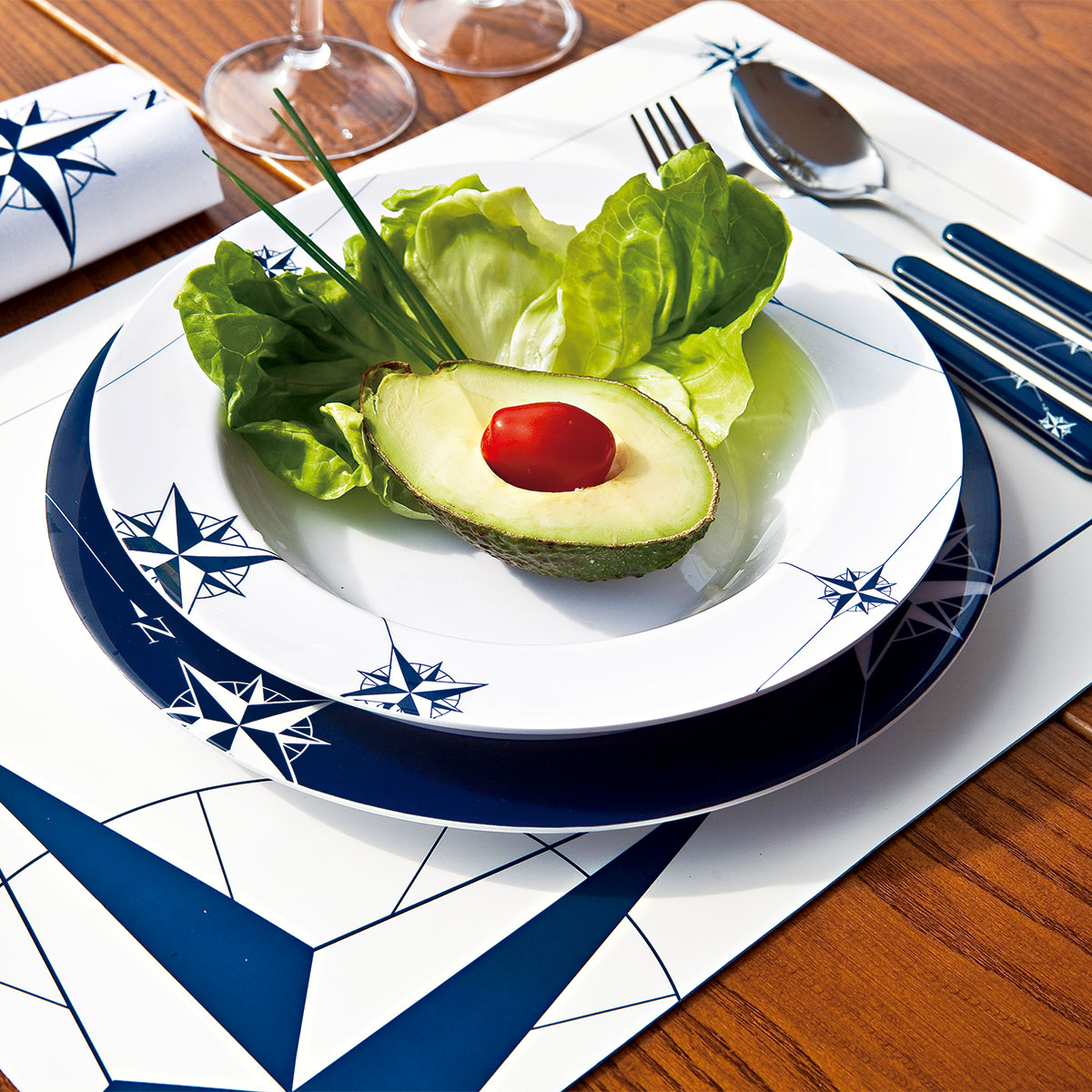 outdoor dining plate sets photo - 8