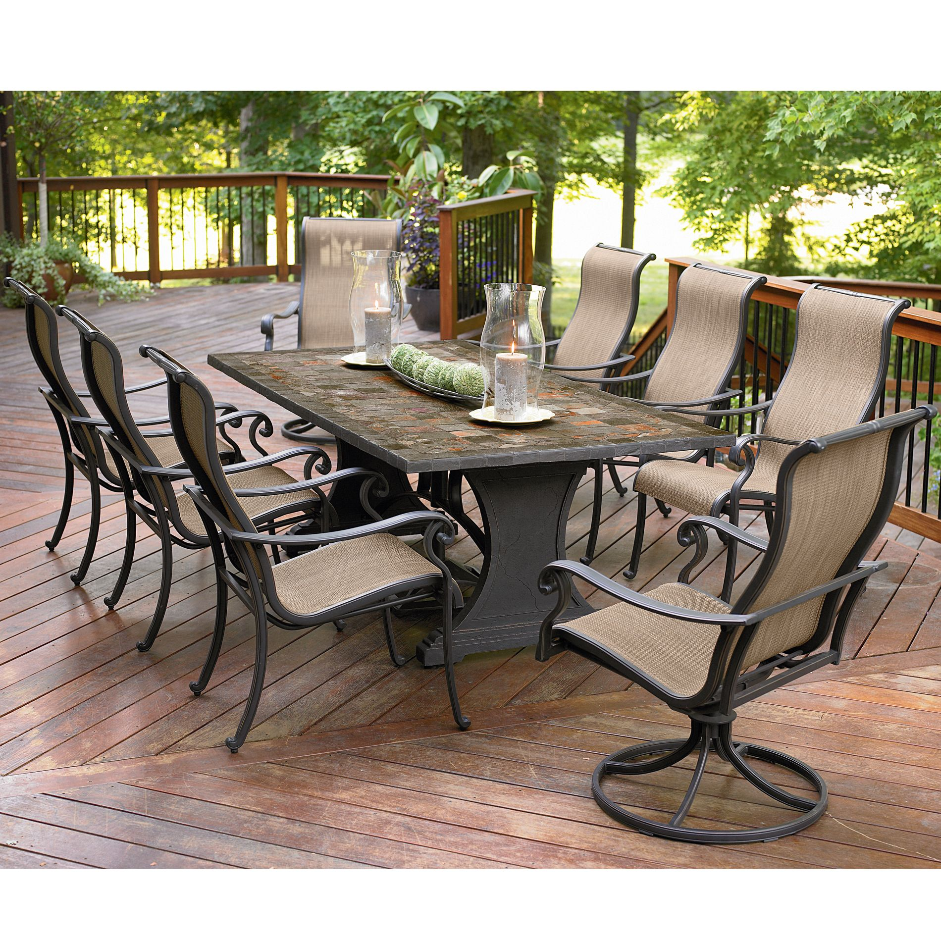 outdoor dining sets photo - 2