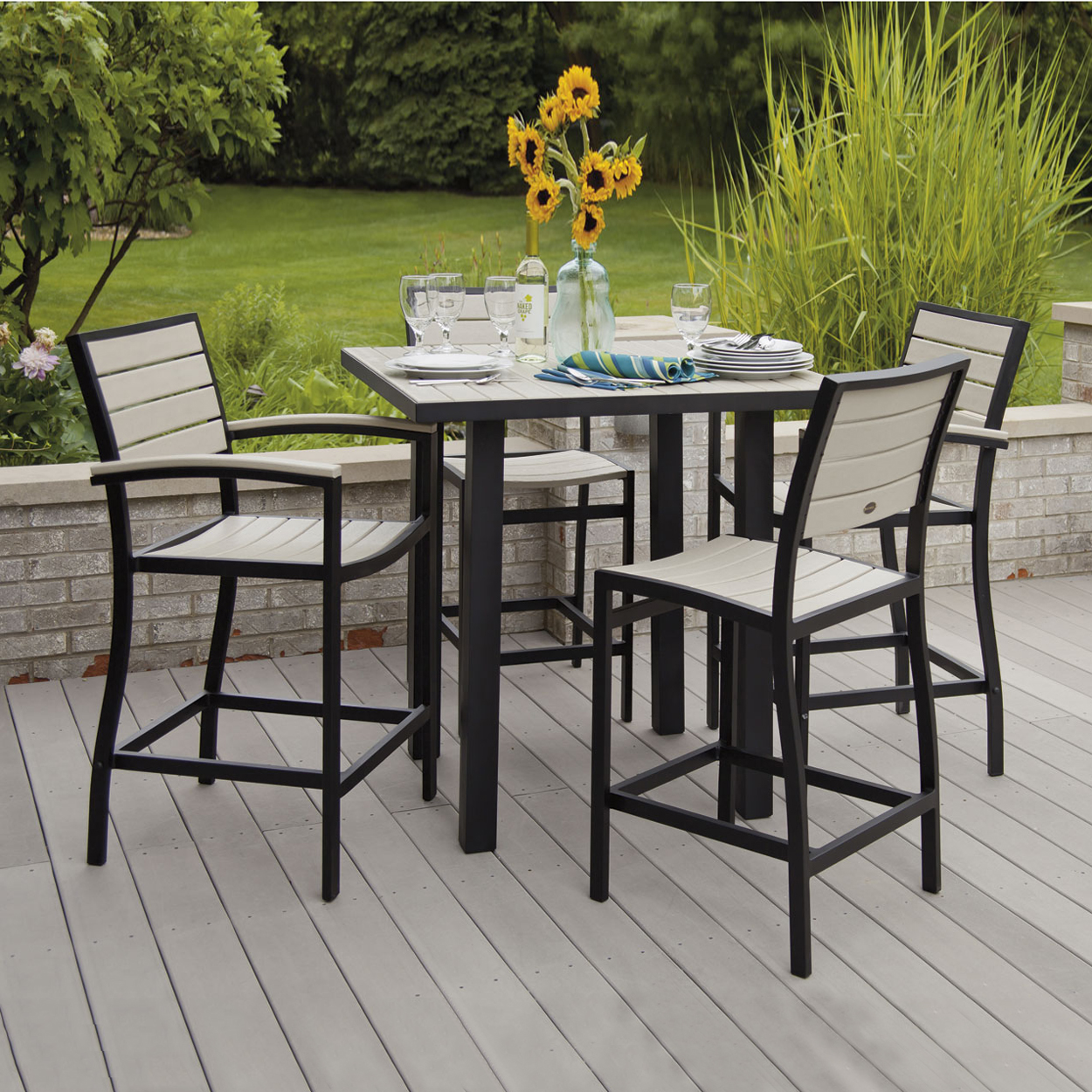 Outdoor Dining Sets Bar Height Photo 1