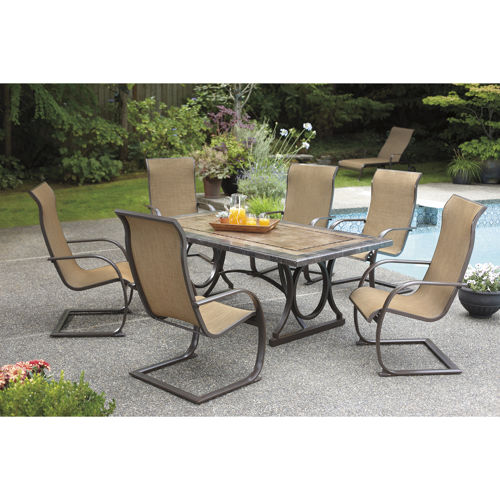 outdoor dining sets costco photo - 1