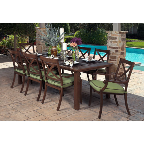 outdoor dining sets costco photo - 10