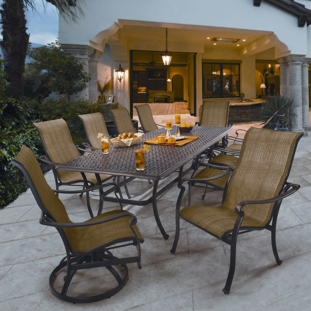 outdoor dining sets costco photo - 2