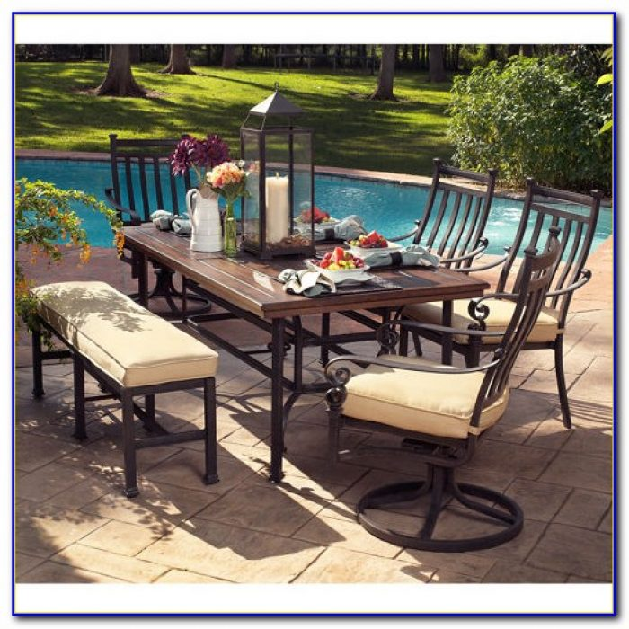 outdoor dining sets costco photo - 3